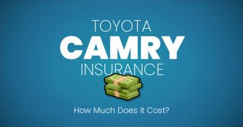 Toyota Camry insurance illustration