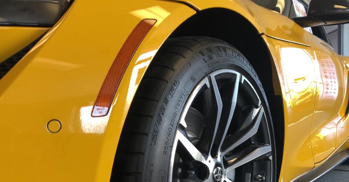Toyota GR Supra Nitro Yellow
