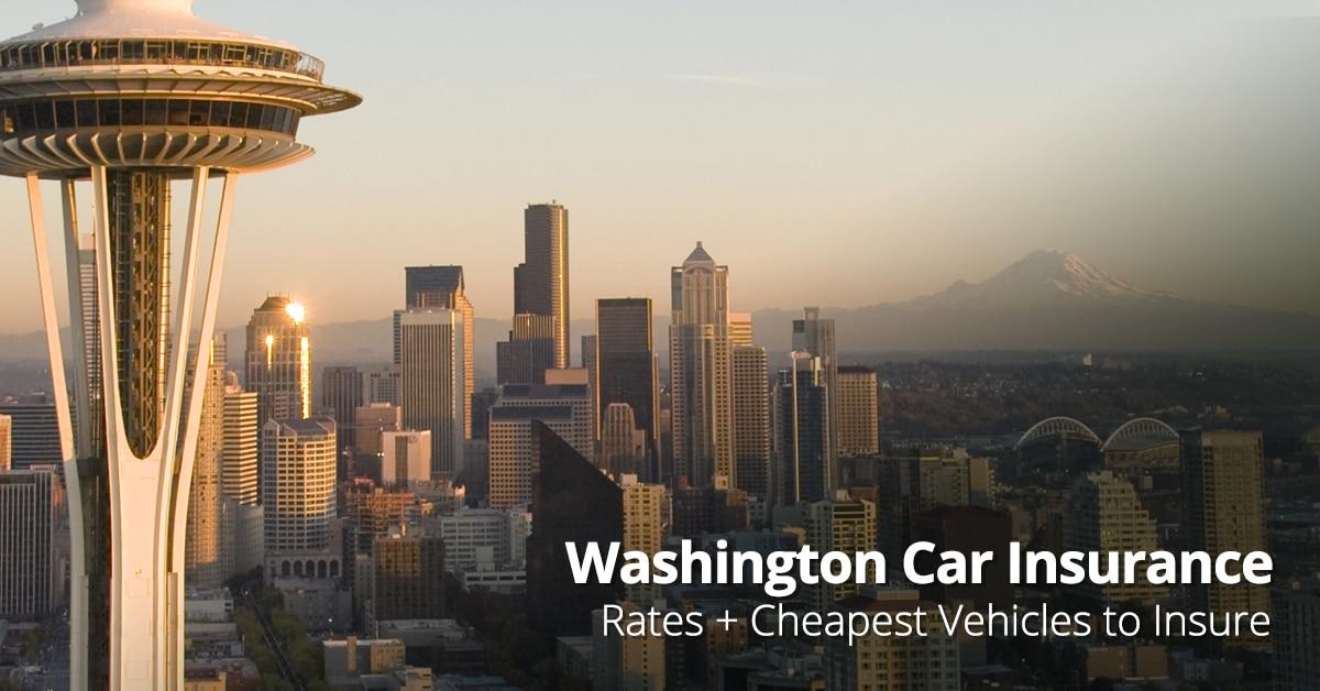 Average car insurance cost Washington