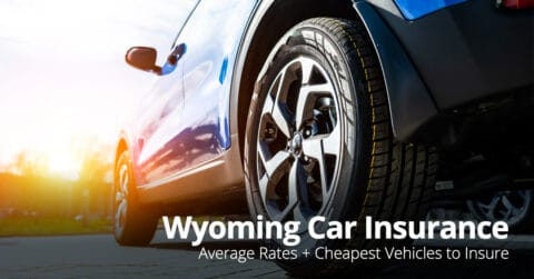Wyoming car insurance cost